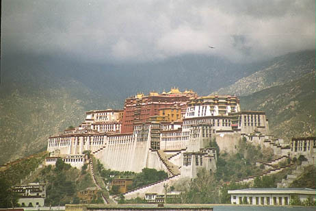 Galen Rowell Rainbow Over The Potala Palace